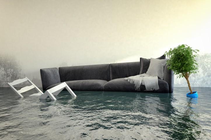 zalanie
