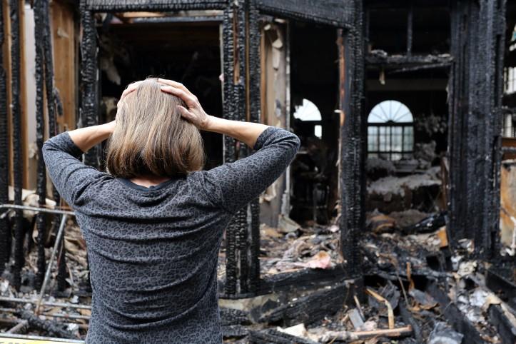Pożar domu jako traumatyczne zdarzenie dla poszkodowanych