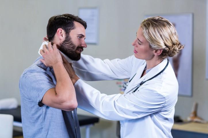 Skręcenie kręgosłupa szyjnego